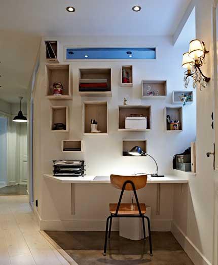 home office viu isso. Black Bedroom Furniture Sets. Home Design Ideas